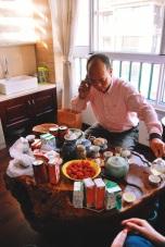 w prywatnej herbaciarni Mr.Lee