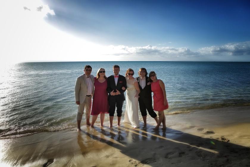 Mauritius, pierwsze chwile po ślubie