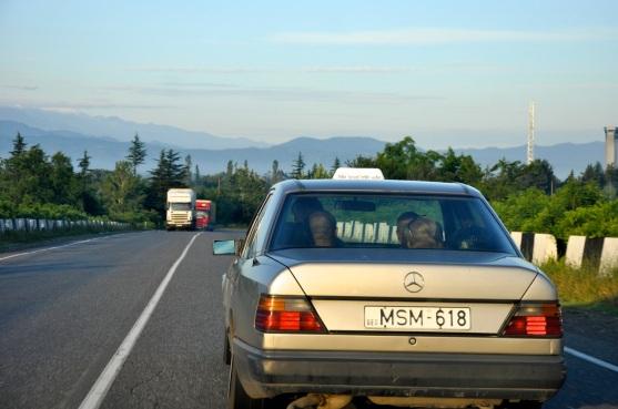 w drodze do Swanetii (okolice Zugdidi)