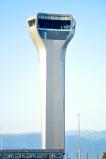 wieża kontroli lotów na lotnisku w Kutaisi