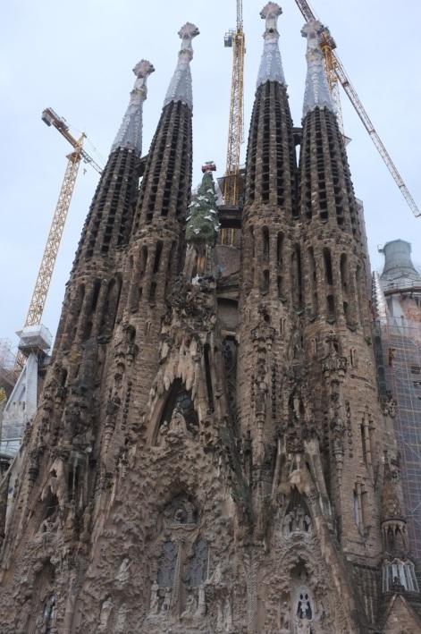 Sagrada Familia Gaudiego