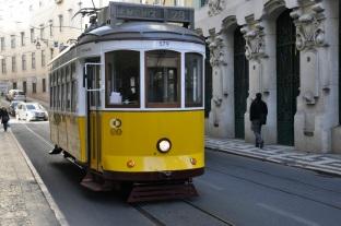 Tramwaj nr. 28 w Lizbonie