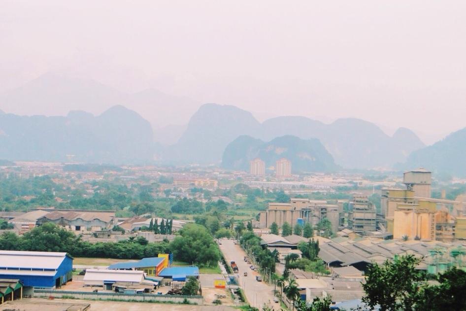 widok z najwyższego punktu świątyni