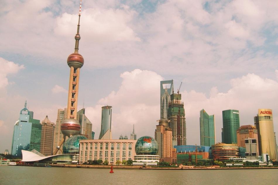 Szanghaj Pudong we wrześniu 2008 roku