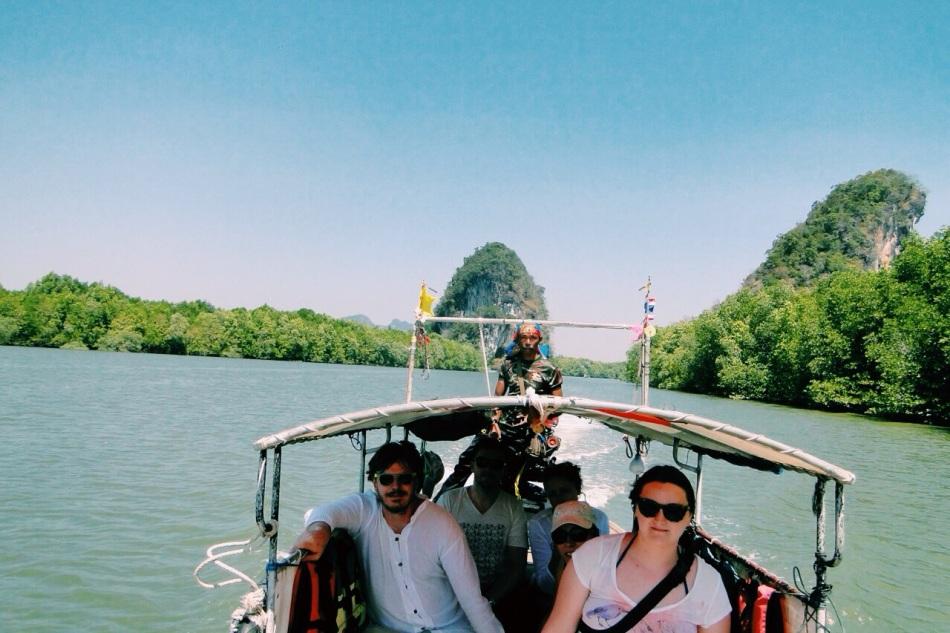 wycieczka łódką po okolicy | photo by Michal Hejduk