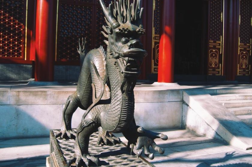 statua Qilin