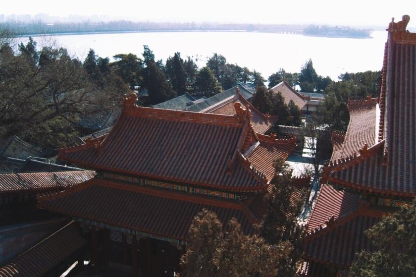 Pałac Letni widziany z góry