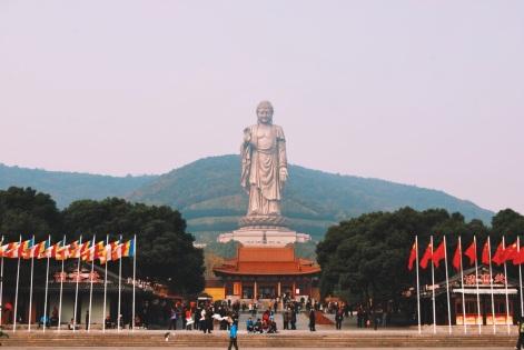 Wielki Budda w Ling Shan