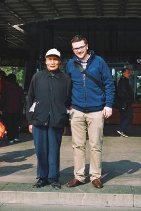"""życie nad Jeziorem Zachodnim: plusem znajomości chińskiego jest to, że można odbyć """"small talk"""" z ludźmi o niesamowitej historii"""