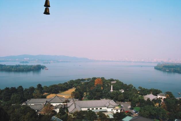 jezioro Zachodnie widziane z pagody Sześciu Harmonii