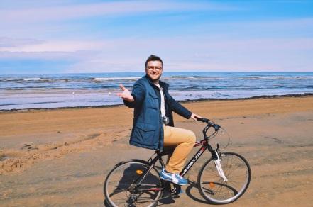 rowerami po plażach Jurmały