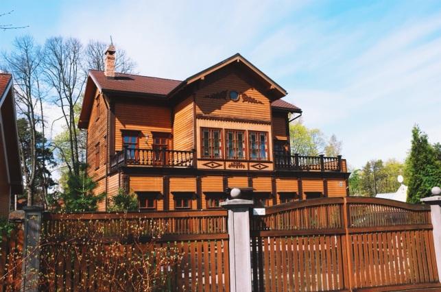drewniana zabudowa Jarmuły