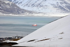 piękne krajobrazy Svalbardu
