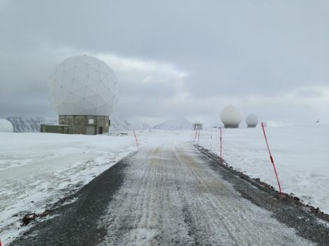 instalacje NASA na Svalbardzie