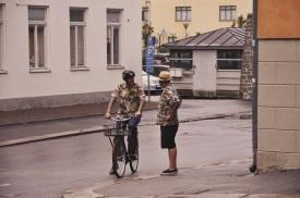 widoki z Karlskrony: tak, byliśmy tam latem...