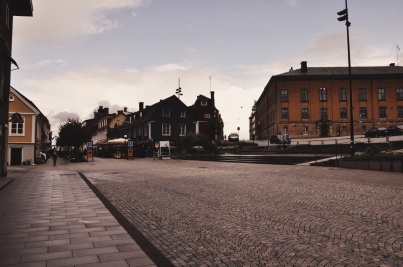 widoki z Karlskrony: centrum
