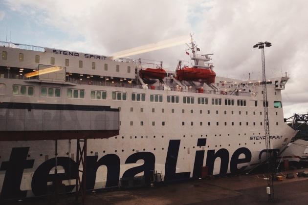 Statek Stena Spirit