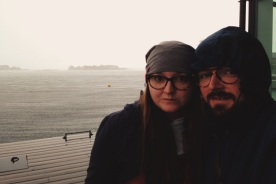 widoki z Karlskrony: znowu leje, czyli kolejna przerwa