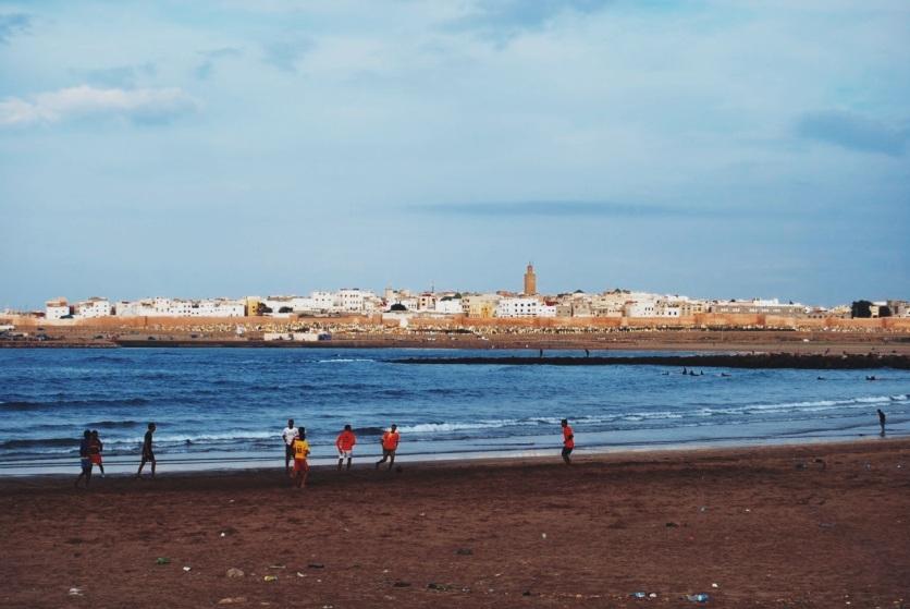 Rabat, nad brzegiem Oceanu