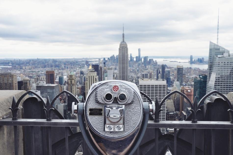 Manhattan, widok z Top of the Rock