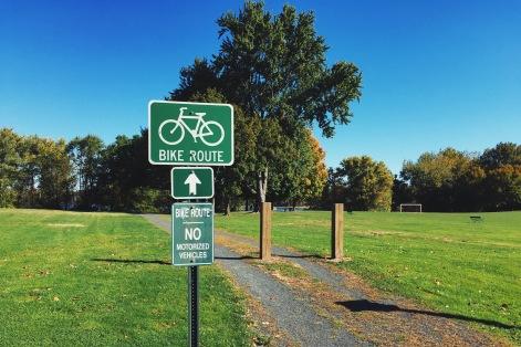 ścieżka rowerowa w Wethersfield