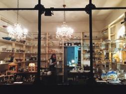 Berta w swoim sklepie