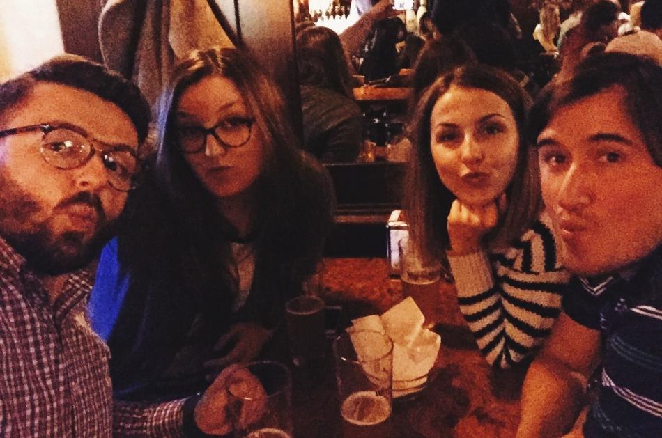 Marcin, Magdalena, Kasia i Nicholas - czyli przypadkowe spotkanie we Włoszech :)