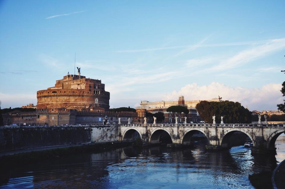 most i zamek św. Anioła