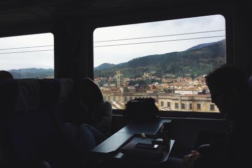 Toskania za oknem