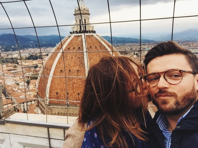 z Magdaleną na wieży Giotta