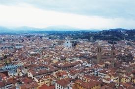 panorama Florencji z wieży Giotta