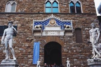 wejście do Palazzo Vecchio