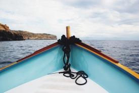 płyniemy po morzu