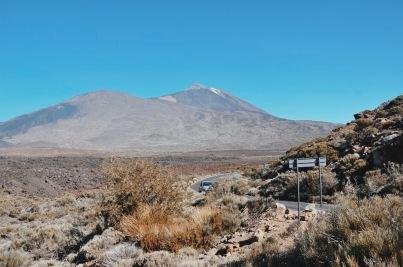 w drodze to Teide