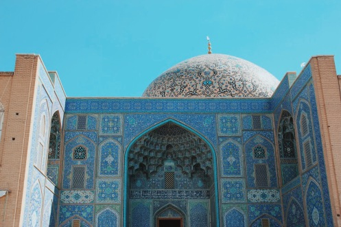 Meczet Szejcha Loft Allaha | zdjęcie Magdalena Garbacz-Wesołowska