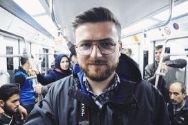 w teherańskim metrze | zdjęcie Magdalena Garbacz-Wesołowska