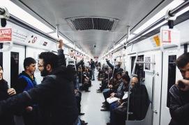 metro w Teheranie, przedział męski