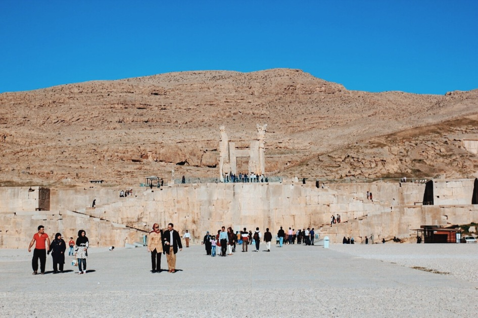 w stronę Persepolis