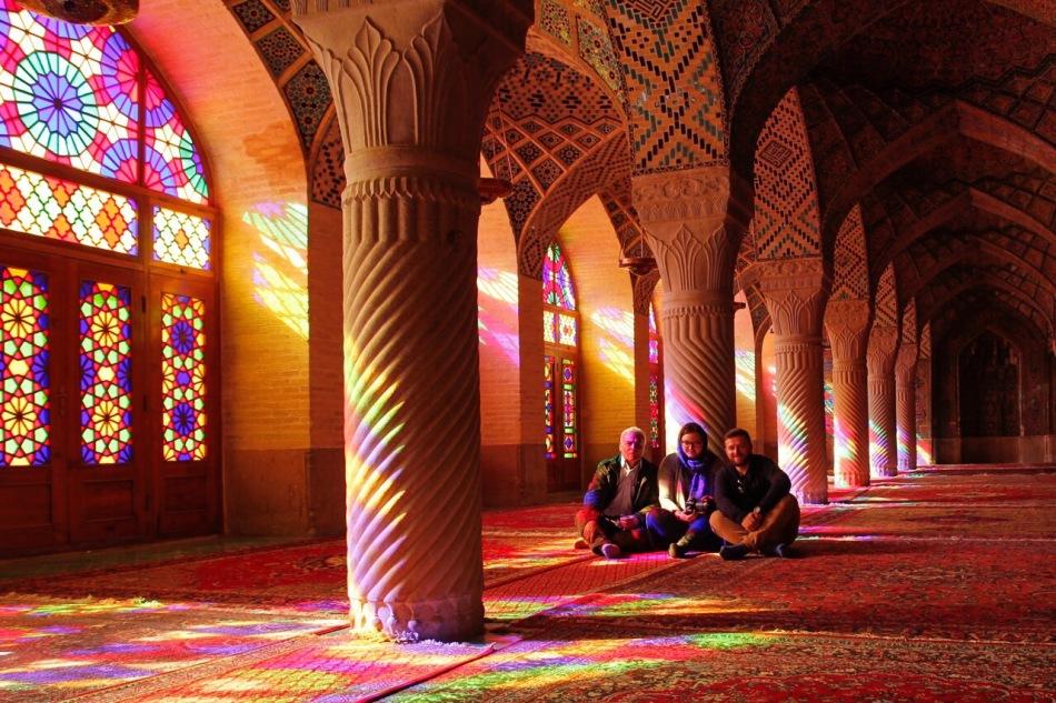 Różowy meczet Sziraz