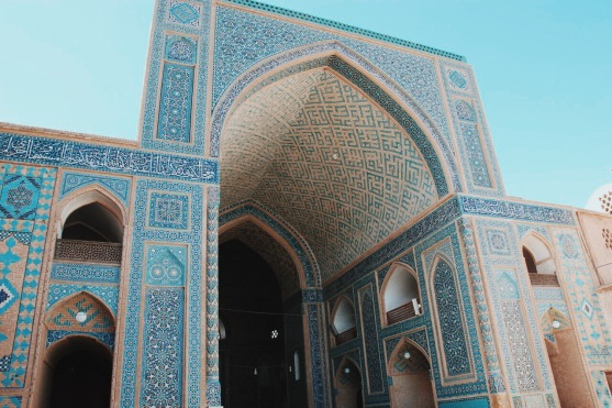 wnętrze Masjid-e Jame