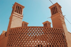 Badgiry w mieście Jazd