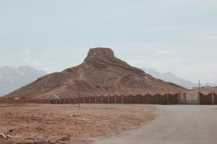 Wieża milczenia na obrzeżach irańskiego miasta Jazd