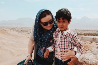 Magdalena z Azerskim chłopakiem