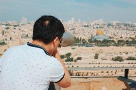 widoki na Jerozolimę