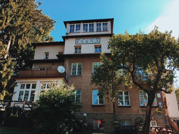 Willa Jasna, Czorsztyn