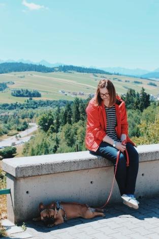 Odpoczynek z Tatrami w tle