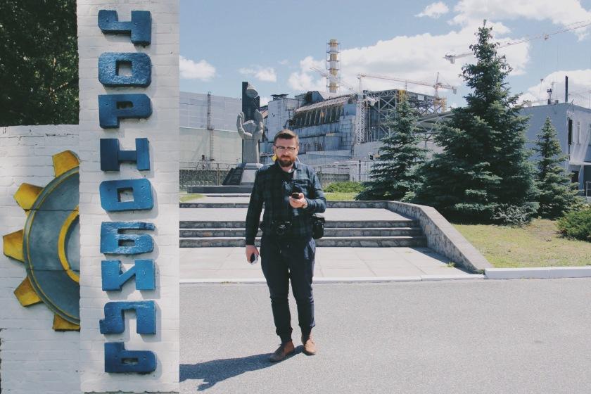 Czarnobyl elektrownia atomowa Wojażer