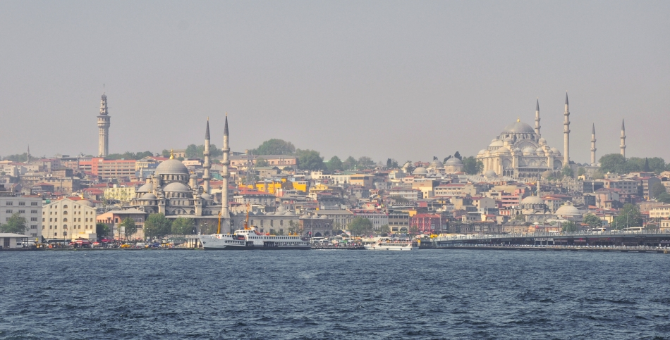 view from Istanbul modern