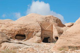 Grobowce w jordańskiej Petrze